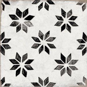 Del Conca/Faetano Sorrento Albori 20x20 Černá, Bílá, Černobílá 20SN00ALA
