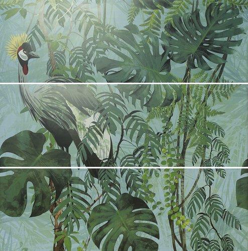 APE Silk Decor Decor Set (3) ABC Virnia Turquoise 40x120 Zelená, Multicolor A036267/K81