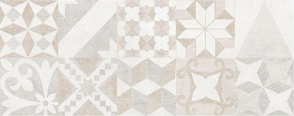 La Fenice Gate Decoro Concrete 20x50 Bílá, Krémová, Šedá světlá Decoro/E32