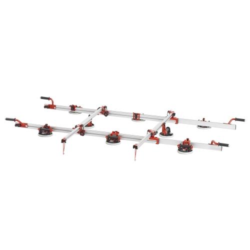 Transportní systém pro velkoformátové dlaždice