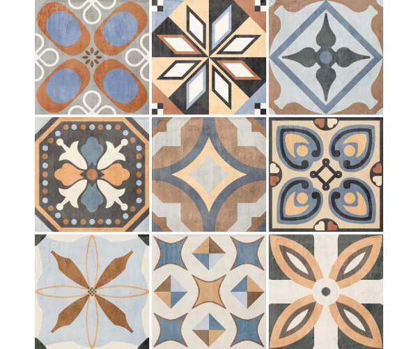 Sant Agostino Patchwork Colors Mix 20x20